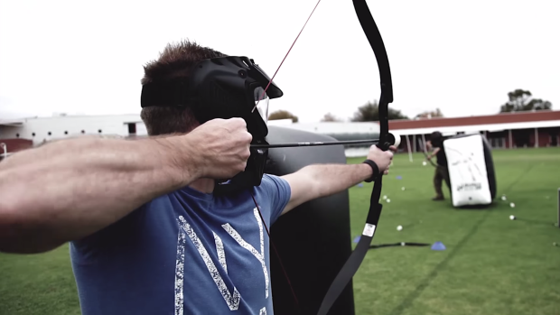 archery battle, tiro con arco